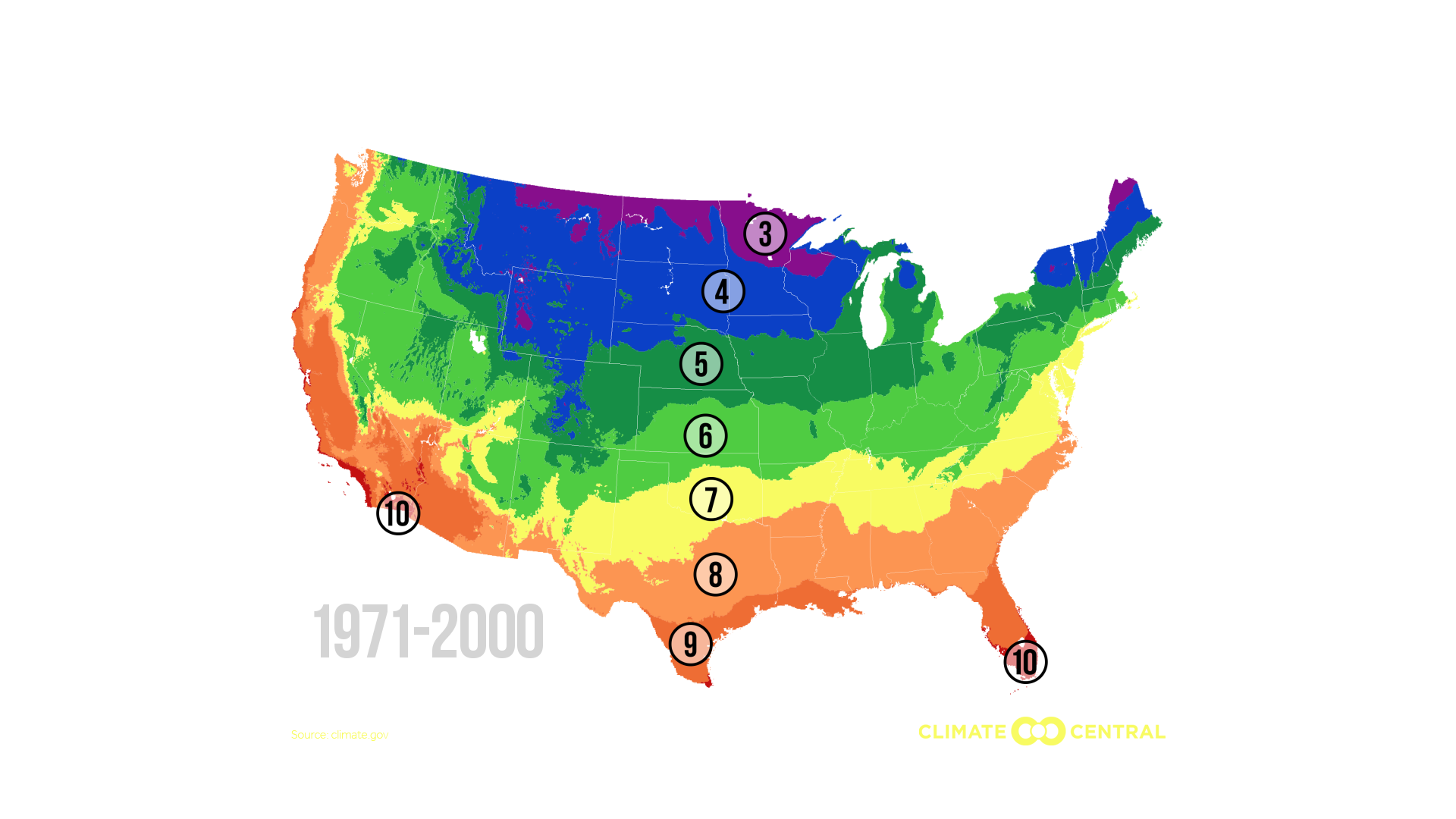 Planting Zones Moving North Climate Matters